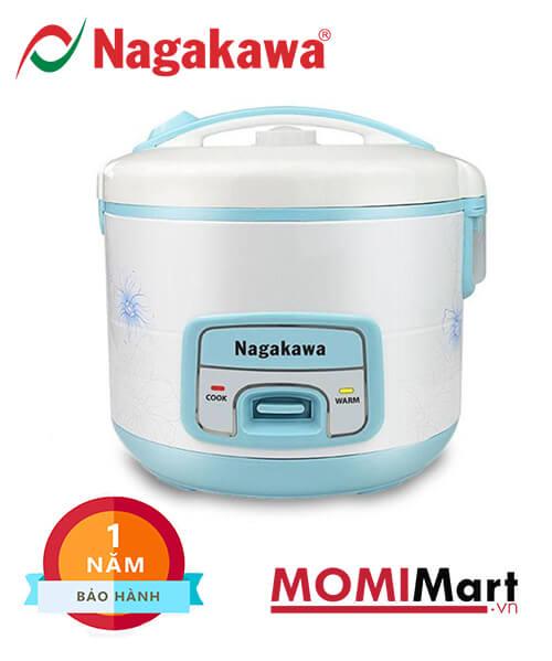 nồi cơm điện Nagakawa NAG0113 - xanh