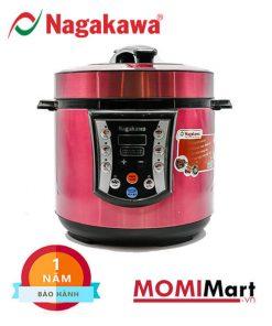 Nồi áp suất Nagakawa NAG0202 Tím